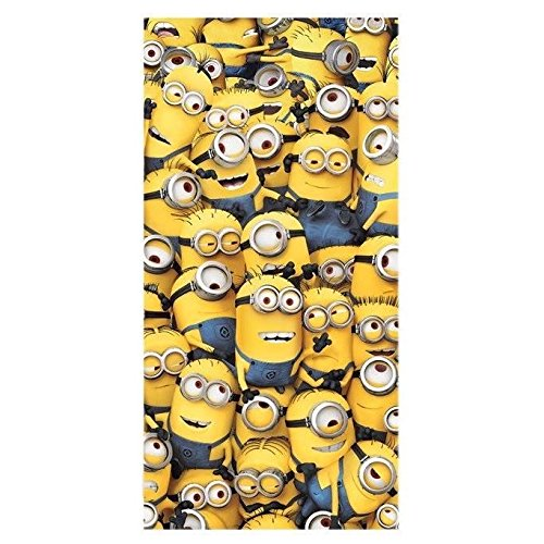 MINIONS - TOALLA DE PLAYA TOGETHER (MICROFIBRA)