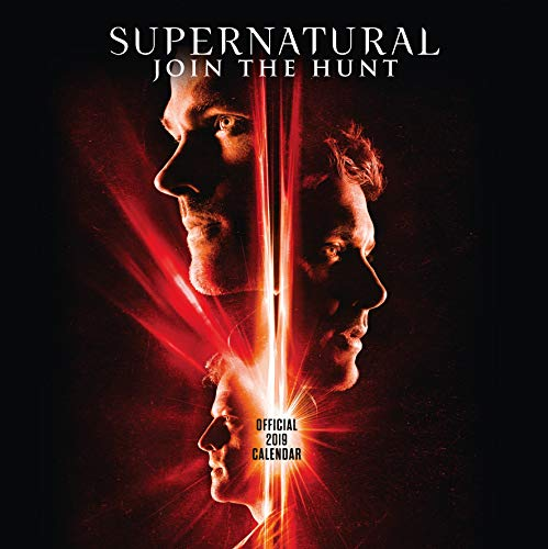 Supernatural Official 2019 Calendar - Square Wall Calendar Format