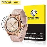 SPGuard [3 Stück] Samsung Galaxy Watch (42mm) Displayschutzfolie, 2.5D [9H Härte] [HD] gehärtetes Glas Display Schutz Kratzfest Anti-Bubble Samsung Galaxy Uhr SM-R810/SM-R815 Smart Watch