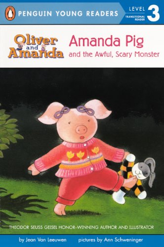 Amanda Pig and the Awful, Scary Monster (Puffin Easy-To-Read: Level 2)