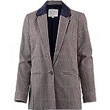 TOM TAILOR Denim Damen Anzugjacke karrierter Boyfriend Blazer, Beige (Sartorial Check 13894), 46 (Herstellergröße: XL)