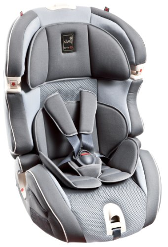Kiwy 14103KW02B Child Car Seat Group 1/2/3 with Isofix 9-36 kg Stone