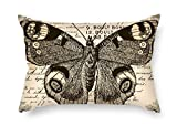 Die Butterfly Überwurf Kissen der, 40,6x 61cm/40von 60cm Dekoration, Geschenk für Lounge, Stuhl, Diwan, Bench, Autositz, Gril Freund (Zwei Seiten)