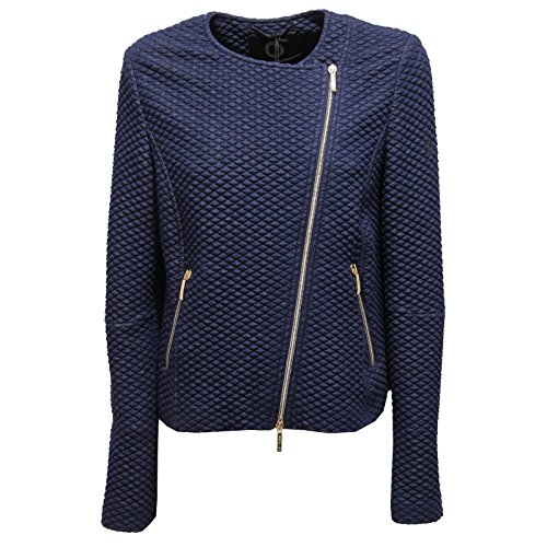 9421U giacca donna UP TO BE SOFIA full zip blue delave jacket woman [44]