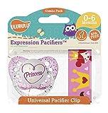 Ulubulu Pacifier w/Clip - Princess