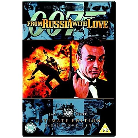 James Bond - From Russia With Love (Ultimate Edition 2 Disc Set) [DVD] [1963] by Sean Connery