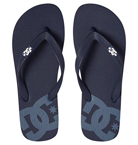 DC Shoes Herren Spray Zehentrenner Navy/Blue/White