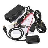 USB 2.0 zu SATA/IDE Festplatte Kabel für HDD Converter Watt Leistung
