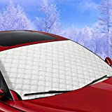 Hxlong parabrezza neve copertura, gelo pellicola di protezione antivento e ghiaccio Protector, Ice Sun Frost e a prova di vento in tutte le stagioni 146x 92cm