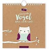 Der frühe Vogel 2017: Postkartenkalender