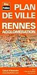 Plan de Rennes et de son agglom�ration