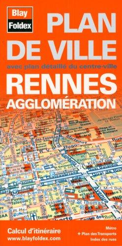 Plan de Rennes et de son agglomération