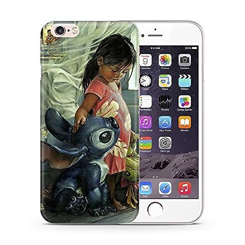 iPhone 6 Plus/6s Plus Lilo et Stitch Étui en Silicone / Coque de Gel pour Apple iPhone 6S Plus 6 Plus (5.5