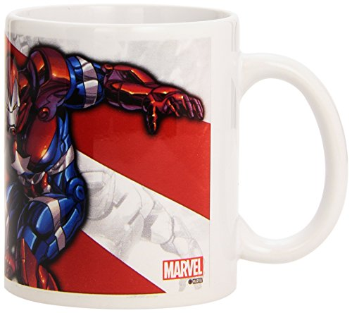 (Semic Distribution smug031 – Möbel und Dekoration – Tasse Iron Man – Serie 1 – Eisen Patriot)