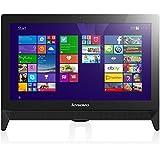 Lenovo C20-05 19.5-inch Full HD All In One PC AMD E1-7010 / 1.5 GHz Processor, 4GB RAM, 500GB HDD, 1920x1080 Screen Resolution, DVDRW, HD Webcam, Bluetooth 4.0, Windows 10