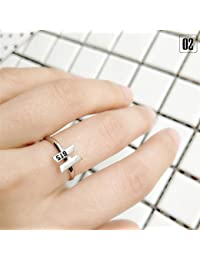 Kinbelle KPOP TWICE BTS WANNAONE - Anillo ajustable para hombre y mujer