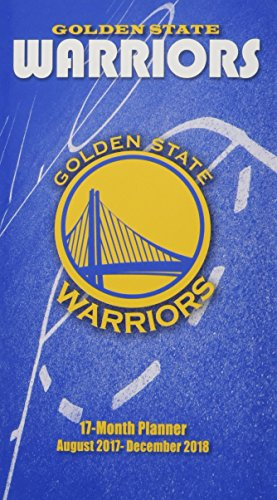 Golden State Warriors August 2017-December 2018 17-month Planner por Lang Holdings Inc.