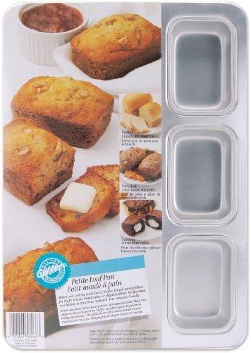 Wilton Aluminum 9-Cavity Petite Loaf Pan by Wilton Industries Inc. -
