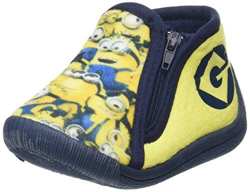 DESPICABLE ME MINIONS Jungen De001943 Hoch, Gelb (Wht/Yellow/Nav 252), 25 EU (8 (Schuhe Despicable Me)