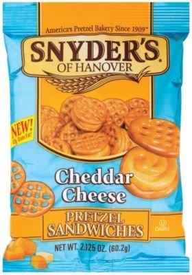 Snyder's - Cheddar Cheese Pretzel Sandwich 60g