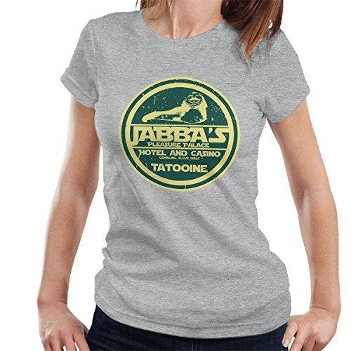 Jabbas Pleasure Palace Star Wars Women's T-Shirt Heather Grey