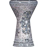 Die Pearl Shrine Sombaty Darbuka von Gawharet El Fan (World Percussion) - Arabische Darbouka-Trommel/Doumbek/Darabuka/Durbaka/Darbka mit weißem Kopf/Fell von Malik