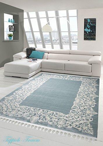 Crema tappeto moderno Crema Turchese (Traumteppich) Größe 200 x 290