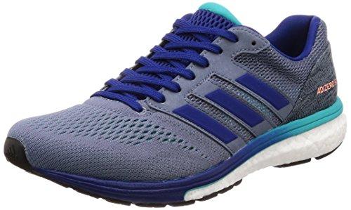adidas Herren Adizero Boston 7 Traillaufschuhe, Blau (Acenat/Tinmis/Agalre 000), 42 EU -