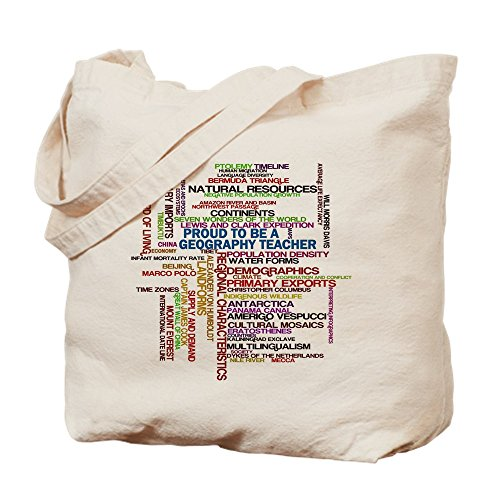 Einzigartiges Design stolz CafePress T-Shirt Geography Teacher Can-Standard Tote Bag (Vintage-shirts Stolz)