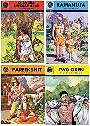 Amar Chitra Katha: Mixed Collection of 10 Books Across All 5 Categories: Visionaries, Epics and Mythology, Fab