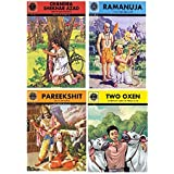 Amar Chitra Katha: Mixed Collection of 10 Books Across All 5 Categories: Visionaries, Epics and Mythology, Fables and Humor,C