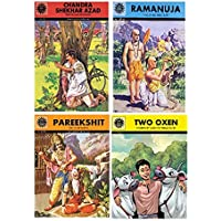 Amar Chitra Katha: Mixed Collection of 10 Books Across All 5 Categories: Visionaries, Epics and Mythology, Fables and…