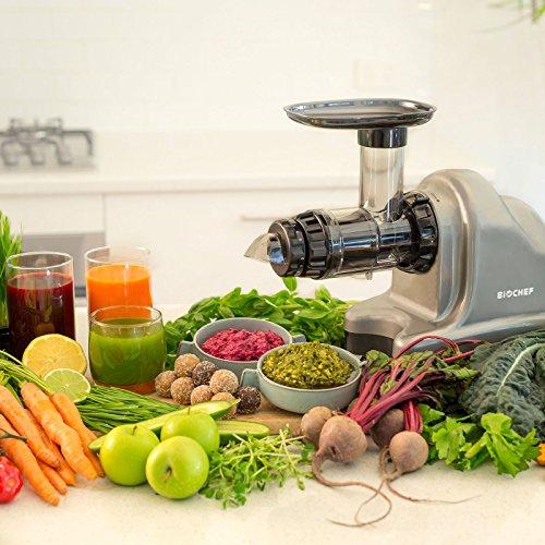 Slow Juicer – Kaltpress Entsafter für Gemüse und Obst Bild 4*