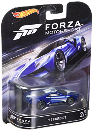 '17 FORD GT from the classic video game FORZA MOTORSPORT Hot Wheels 2016 Retro Entertainment Series 1:64 Scale Die Cast Vehicle (#2 of 5) by Retro Series