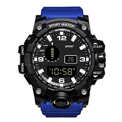 friendGG Neue Uhr Luxus Herren Digital LED Uhr Datum Sport Herren Outdoor elektronische Uhr