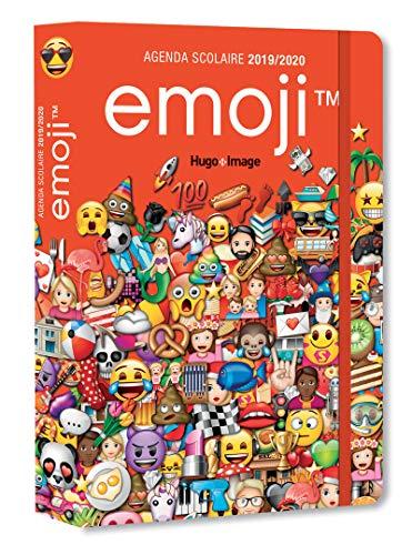 Agenda scolaire 2019-2020 Emoji par  Collectif