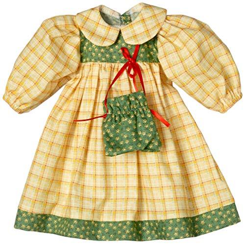 Sturm 8845-2 - Vestido de Primavera para muñecas, Color Amarillo