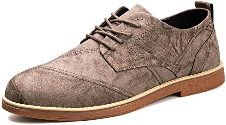 Zapatos De Cuero para Hombres Zapatos Casuales Joker De Moda Zapatos Cómodos De Cuero Respirable -