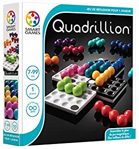 Smart Games Quadrillion Child Niño/niña - Juegos educativos (Multicolor, Child, Niño/niña, 7 año(s), 99 año(s), 80 Pieza(s))