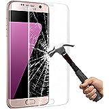 Samsung Galaxy S7 edge schutzfolie , ikalula Galaxy S7 edge Glass Panzerglas [3D Full Coverage] 9H Härtegrad Anti-Kratz Displayschutzfolie Schutzfolie Screen Protector Für Samsung Galaxy S7 edge - 1 Pack