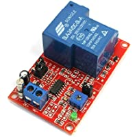 sourcingmap® DC 24V bobina singolo canale circolo tempo ritardo relè modulo scheda