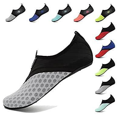 DIERDI Water Shoes Barefoot Breathable Quick Dry Slip On