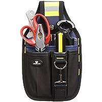 Case4Life Portaherramientas Bolsa de Cinturón - Perfecto para Brivolaje Electricistas Carpinteros y Constructores - Garantía de por vida