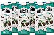 Yosoy - Bebida de Arroz con Coco - Caja de 6 x 1L
