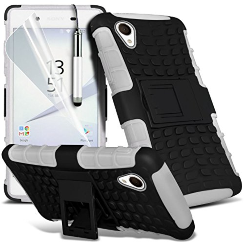 Case for <b>      Sony Xperia Z5 Premium / Sony Xperia Z5 Premium Dual    </b>     Case Universal Car Phone Holder Mount Cradle Dashboard & Windshield for iPhone y i -Tronixs Shock proof + Pen (White)