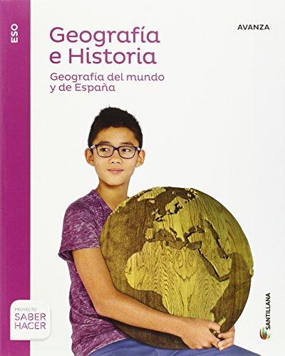 GEOGRAFIA E HISTORIA AVANZA 3 ESO SABER HACER - 9788414103111