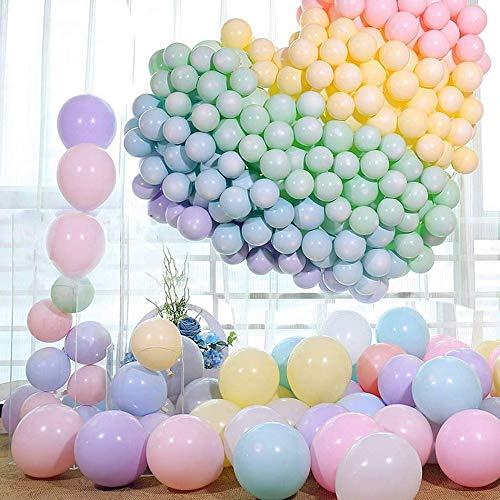 ourworld 100 Stücke Latex Luftballons,Farbige Ballons,Party Dekorative Ballons,Geburtstag für Hochzeit Party Engagement Baby Dusche (Party Engagement Ballons)