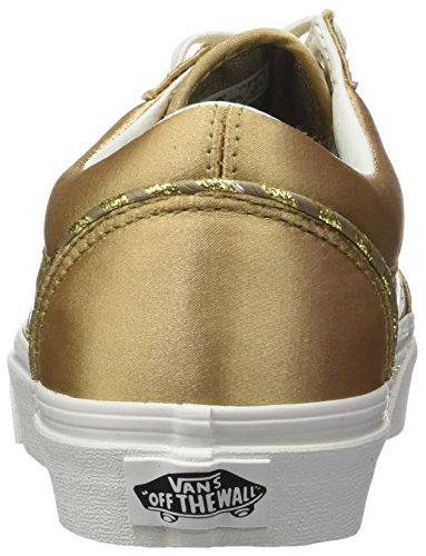 Vans Old Skool DX, Baskets Femme Or (California Souvenir/ Greige/blanc De Blanc)