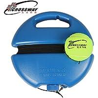 Hifuture - Pelota de tenis para entrenamiento, diseño exquisito y mano de obra, para tenis, color azul y poliéster