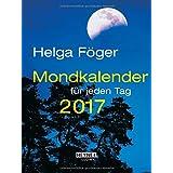 Mondkalender für jeden Tag 2017 (TK): Taschenkalender